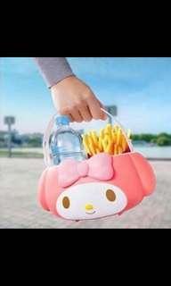 日本麥當勞 限定版Melody食物籃