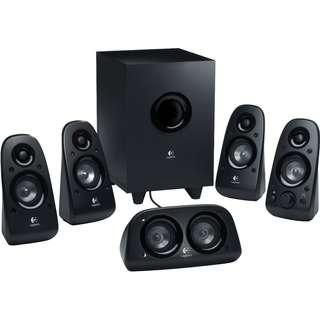 Brand New Logitech Z506 5.1 Surround Sound Home Theater Speaker System