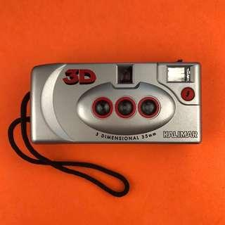 ✨👍📸(TESTED WITH FILM )3D STEREOSCOPIC FILM CAMERA KALIMAR