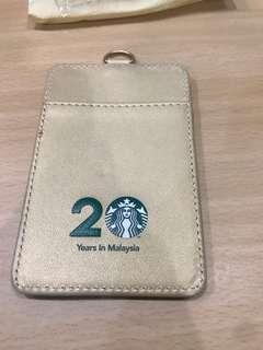 Starbucks limited edition lanyard