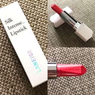 Full size Laneige Silk Intense Lipstick (120 Orange)