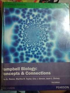 Campbell Biology: Concepts & Connections 7th Edition