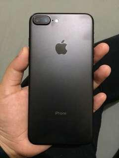 iphone 7+ matte black 32 gb