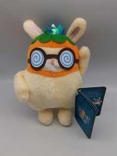 可愛類: Planetj冒險王國橙皮兔毛公仔