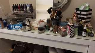Ikea glass drawer organizer . I use it for my makeup