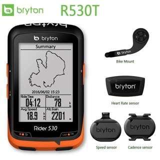 [BNIB] Bryton Rider 530 GPS Cycling Computer