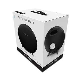 Brand New Harman Kardon Onyx Studio 3 Black Speaker