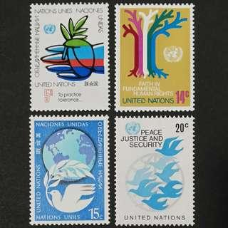 Universal Postal Union - New York 1979. Postage Stamps complete set