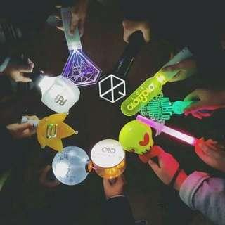 (PO) kpop official lightsticks