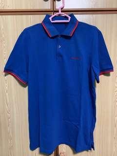 Ben Sherman Polo Tee - M size (Bright Blue)