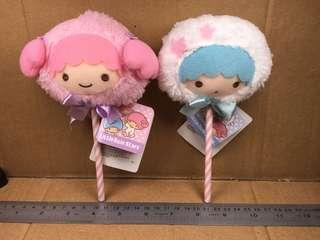 Sanrio Little Twin Stars 棉花糖 毛公仔 504556 504572