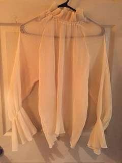 Bell sleeves shirt