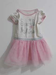 dress tutu anak