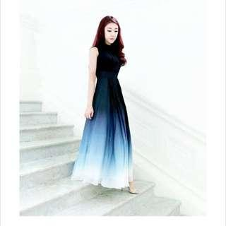 Theory of seven ombre dress