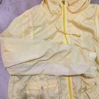 REPRICED Yellow Parka Jacket