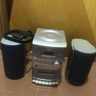 JVC收音機CD機卡式機Radio/cd/tape