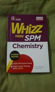 #MY1212 WHIZZ Chemistry SPM Reference Book (READY STOCK)