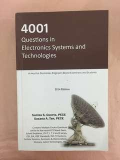 4001 Questions in Electronics Systems & Technologies