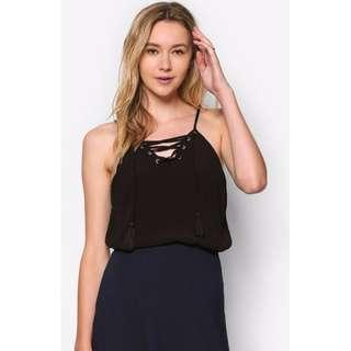 Cotton On Lace Up Cami Top