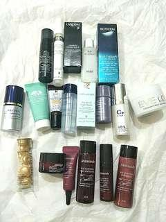 🌟SKII, Biotherm, Kiehls, Shiseido, Lancome, IDS deluxe sizes - 19 pcs🌟