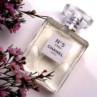 Chanel no 5 l'eau for women 100ml