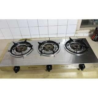 3 Burner stove