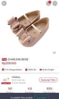 Lullabee charlene beige shoes