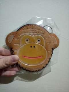 ORANGE MONKEY 🐵 POUCH