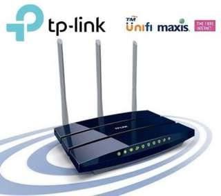 TP-LINK Ultimate 450Mbps Wireless N Gigabit Unifi Router TL-WR1043ND