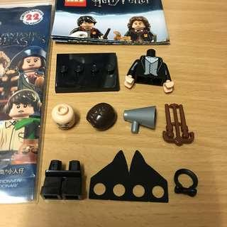 LEGO Minifigures 71022 Harry Potter and Fantastic Beasts Series 1 - Professor Filius Flitwick 老師 No.13 哈利波特 怪獸與牠們的產地 樂高 人仔 模型 13
