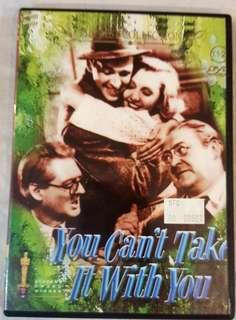 DVD - YOU CAN'T TAKE IT WITH YOU (1938)