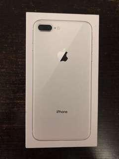 全新iPhone 8 plus 64GB 白色