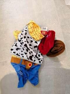東京購入 Pet Paradise Disney Collection Woody Toy Story 胡迪 寵物衫 狗仔衫 S size from Tokyo with Tag 半價