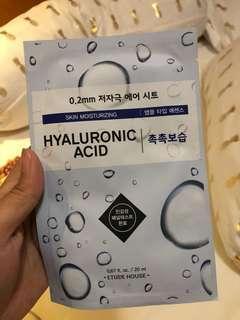 #Prelovedwithlove Hyaluronic Acid sheet mask