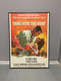 Gone With the Wind Film Poster 50x70cm