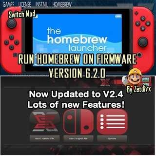 🚚 Nintendo Switch MODDING