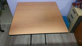 Near Brand New Big Foldable Square Table