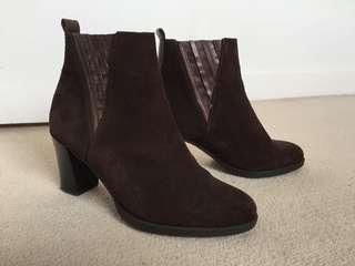 Wonders Suede Ankle Boots size 36