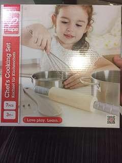 Brand new kids cooking/baking set