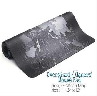 Oversized / Gaming World Map Mouse Pad