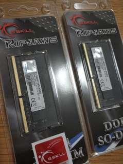 Gskill Ripjaws DDR4 2400 2x8GB Laptop Ram