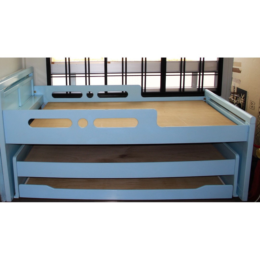 3 Tier Bunk Bed Furniture Beds Mattresses On Carousell