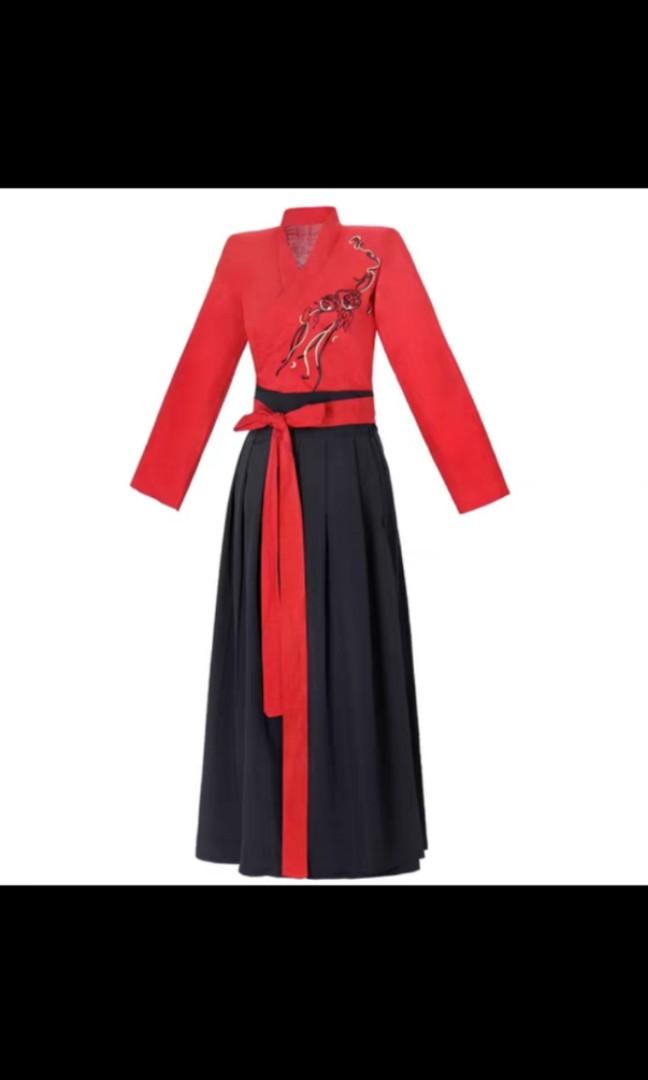 古裝 女 派對服裝 唐裝 中國服