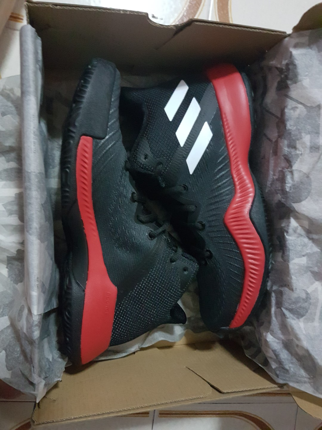 7dafa4f752fdd Adidas Mad Bounce Basketball Shoe