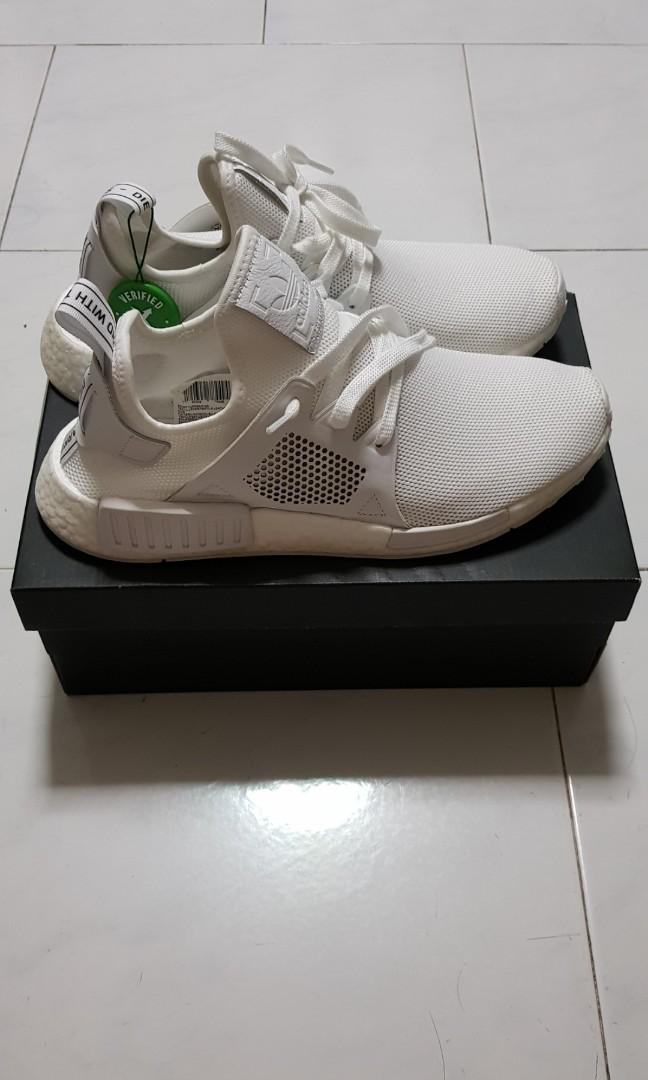 74bd1f748af4a Adidas NMD XR1 Triple White