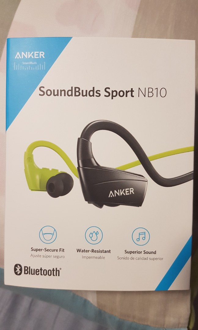 15a28ee04e4 Anker SoundBuds Sport NB10, Everything Else on Carousell
