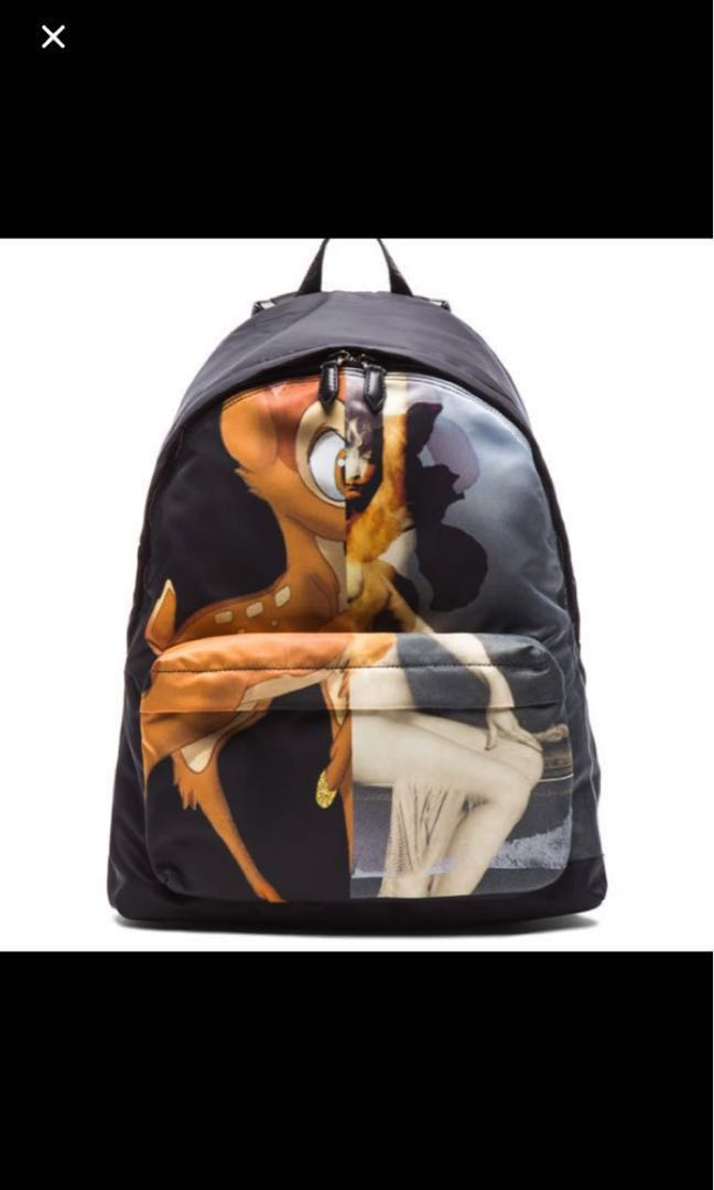 AUTHENTIC GIVENCHY X BAMBI BACKPACK 2b751a881edca