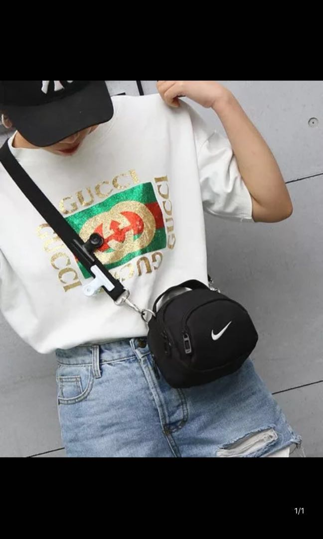 4d1e6c4c1 AUTHENTIC NIKE SMALL SLING BAG PREORDER, Women's Fashion, Bags & Wallets, Sling  Bags on Carousell