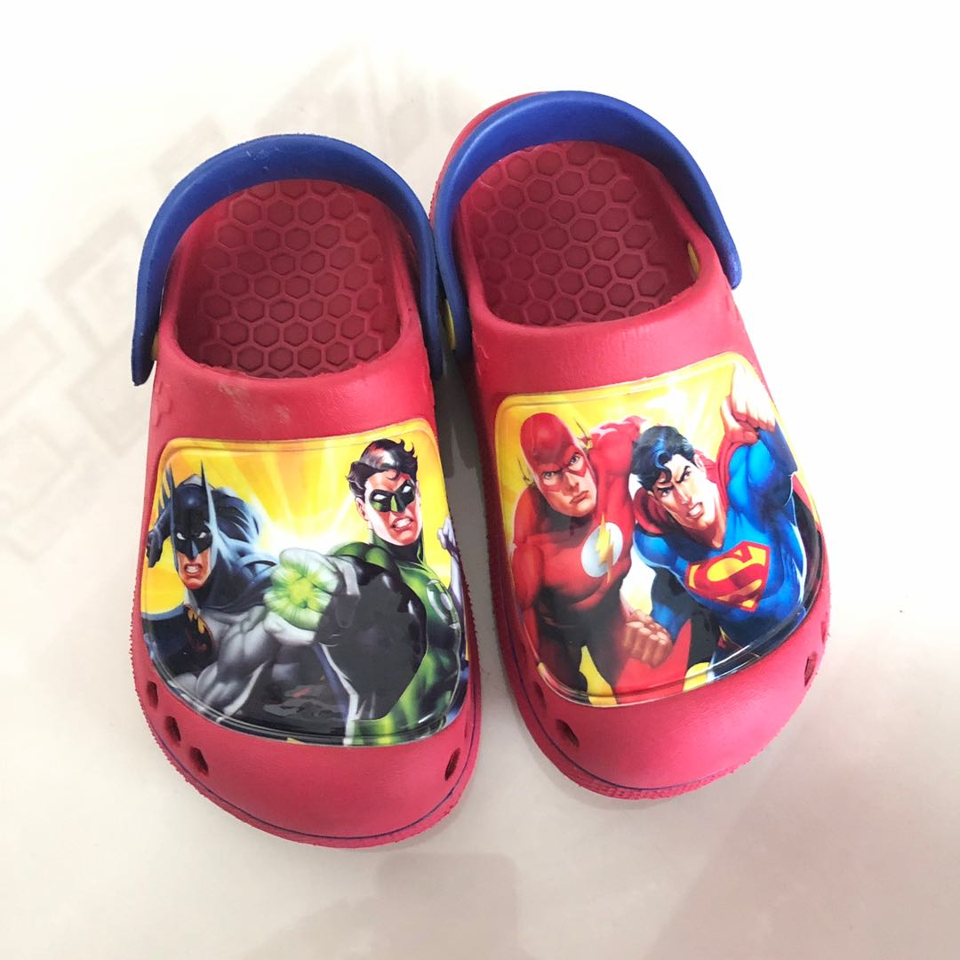 982ac5f17b4e Bata Superheroes Crocs Style Shoes