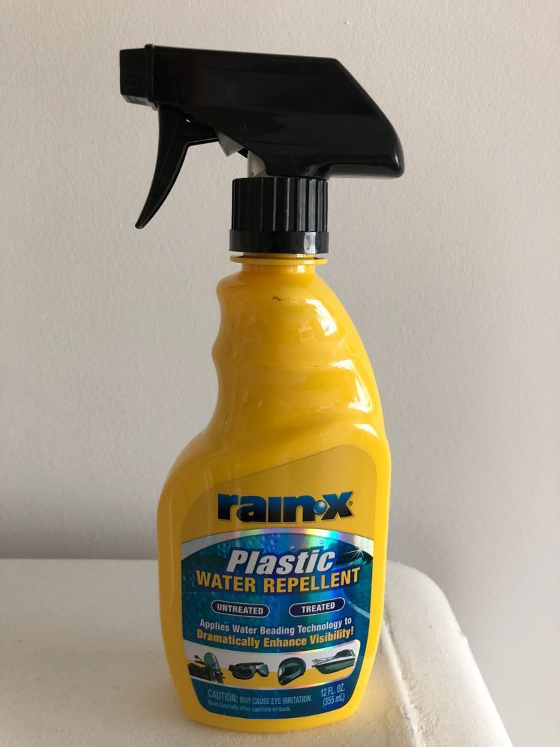 Bikes Rain X for Plastic water repellents